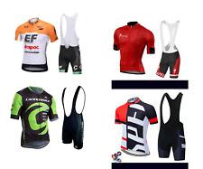 cycling jersey cannondale bib short gel pad bike jersey MTB Road bike jersey set