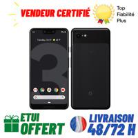 "GOOGLE Pixel 3 Téléphone portable 5,5"" 128 Go RAM 4 Go Noir Android 9 désimlocké"