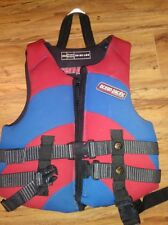 Ocean Pacific childs life vest jacket swimming waterski size 30-50 lbs