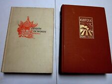 KINFOLK : PAVILION OF WOMEN by Pearl Buck TWO Books BOTH 1st Eds VERY GOOD+ HCs