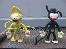 Marsupilami 2 figurines plastique 1989 TBE