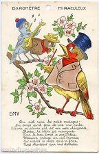 EMY BOURET. OISEAUX HUMANISéS. BAROMèTRE MIRACULEUX. SYSTèME. BIRDS. MECHANICAL