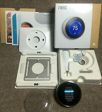 Nest 3rd Generation Stainless Steel Programmable Thermostat - T3007ES