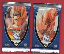 JUSTICE LEAGUE OF AMERICA VS SYSTEM - DC COMICS TCG - 1 BOOSTER PACK