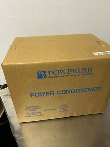 PowerVar Power Conditioner ABC150-11, 2 Outlets150A, PN61018-01GR