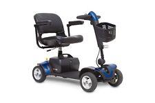 NEW BLUE Pride Go Go Elite Traveller SPORT Travel Mobility Scooter - 18ah
