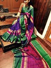 Anushka Uppada Zari Pure Soft Silk Saree Hand Woven South Indian Pure Pattu Sari