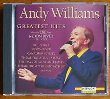Andy Williams - Greatest Hits Live - Buy 1 Item Get 3 at Half Price Now
