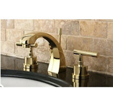 Kingston Brass KS498.CML Manhattan 1.2 GPM Widespread Faucet