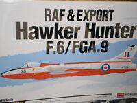 MAQUETA KIT EDICION ESPECIAL HAWKER HUNTER F.6/FGA.9 1:48 ACADEMY 12312