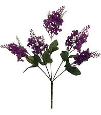 Lilacs x 5 Bouquet ~ Many Colors  Centerpieces Bridal Silk Wedding Flowers Decor