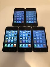 Lot of 5x Apple iPod Touch 4th Generation 8GB - Black READ FULL DESCRIPTION