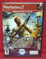 Medal of Honor Rising Sun PS2 Playstation 2 Game 1 Owner NEAR Mint Disc Complete