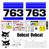 Bobcat 763 Skid Steer Set Vinyl Decal Sticker - 25 PC