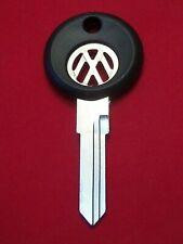 V37P VOLKSWAGEN Logo KEY BLANK aprox 1988-1998 VW Golf Jetta Cabrio Eurovan Fox