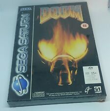 Sega Saturn - Doom, brand new and sealed.