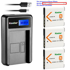 Kastar Battery LCD USB Charger for Sony NP-BN1 NPBN1 & Sony Cyber-shot DSC-W350