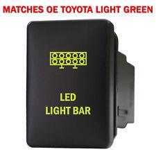Push switch 907NG 12volt For Toyota OEM LED LIGHT BAR Tacoma LED NEW GREEN