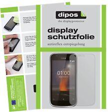 2x Nokia 1 Protector de Pantalla protectores mate dipos