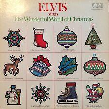 ELVIS Sings The Wonderful World LP (12in 33.3rpm RCA ANL1-1936) NEAR MINT