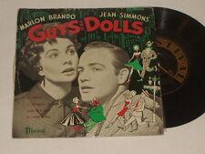 "MARLON BRANDO & JEAN SIMMONS 'Guys And Dolls' 1956 Australian 7"" EP"