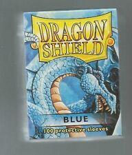 (100) Dragon Shield Blue Protective Sleeves Sealed Magic MTG FREE SHIPPING
