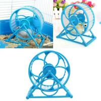 Wheel Running Exercise Plastic Scroll Silent Hamster Mouse Rat Gerbil Pet Toy lz