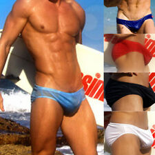 Men's Low Rise Sexy Breathable Trunks Beach Running Swimming Swimwear Underwear