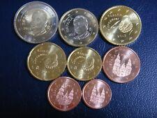 ESPAÑA 2013 SERIE 8 MONEDAS EURO