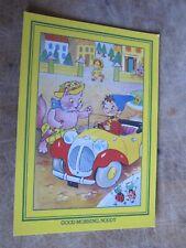 J Salmon postcard - Children's TV -  Noddy & His car