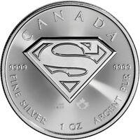 2016 Canada Silver Superman (1 oz) $5 BU