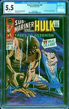 Tales to Astonish #92 CGC 5.5 -- 1967 -- Sub-Mariner. Surfer cameo #2014453007