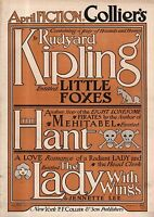 1909 Collier's March 2-Haiti, Milwaukee; Rudyard Kipling; Oliver Herford;Parrish