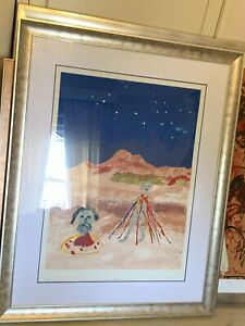 Sidney Nolan Limited Edition Fine Art Print Signed