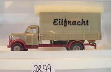 Brekina 1/87 4305 Borgward B 4500 LKW Pritsche/Plane Eilfracht OVP #2899