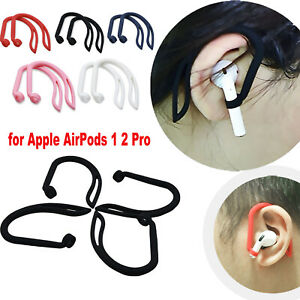2 × Silicone Ear Hook Anti-Lost Clips for New AirPods Pro 1 2 Bluetooth Earphone