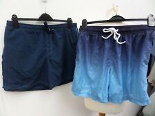 x2 (M&S/ TU) Men's Swim ShortsBlue - Size Large W36