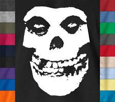MISFITS Records T-Shirt Skull Horror Punk Rock MTV Steve-O Concert Ringspun Tee