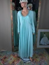 Beautiful Vintage 80s Peri Petites Color Contrast Black and Teal Long Floor Maxi Length Blazer Style Dress or Long Duster Opera Ja ON SALE!