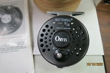 ORVIS BATTENKILL DISC 5/6 FLY FISHING REEL WITH CASE MADE IN ENGLAND