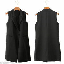 Unbranded Cotton Blend Casual Waistcoats for Women