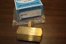 "Hy-Pneu Flow Control 3/4"", Brass"
