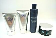 MONAT Styling Lot Flex Hold Gel Micellar Shampoo Blow Out Cream In-Shower Masque