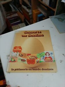 BD EO Desserts en dessins - Héléne Vincent 1978 - avec bon de commande RARE