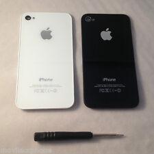 Tapa Trasera iPhone 4S Cristal Original Respuesto Batería Carcasa Cover
