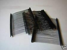 """500 Pcs Standard Tagging Fasteners Pin Barbs~ 2"""" Black"""