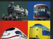 Nederland Treinen Trains voorgefrankeerde postkaarten - postcards