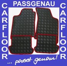 Peugeot 205 Cabrio Gummi-Fußmatten farbiger Einfassung