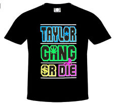 Taylor Gang or Die T-Shirt, Big & Tall, Cotton Blend (Adult's Size: S,M,L.XL)