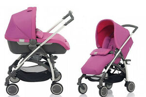 Inglesina Avio Stroller and Bassinet Travel System in Amethyst Pink Brand New!!